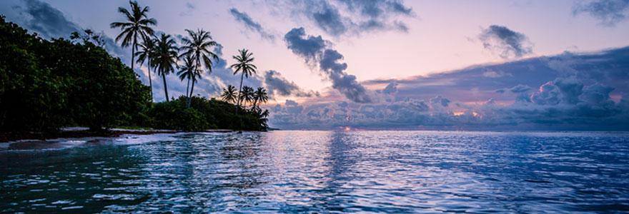 Sport nautique fait en Guadeloupe